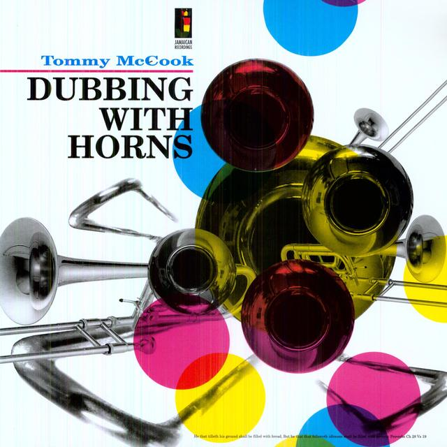Tommy Mccook DUBBING WITH HORNS Vinyl Record