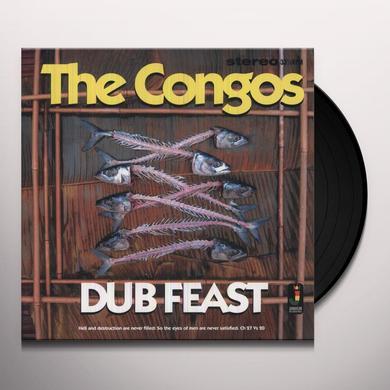 Congos DUB FEAST Vinyl Record