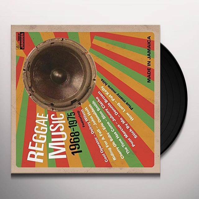 REGGAE MUSIC 1968-1975 / VARIOUS Vinyl Record