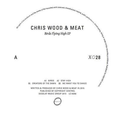 Chris Wood & Meat BIRDS FLYING HIGH Vinyl Record
