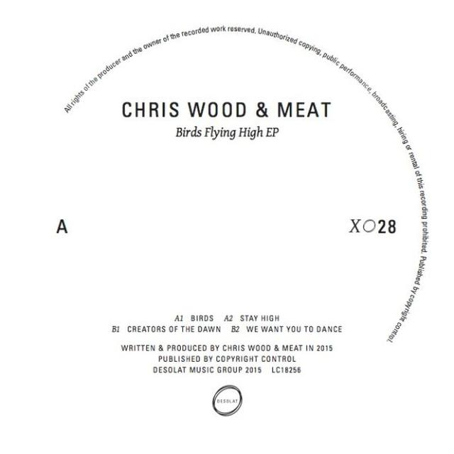 Chris Wood & Meat BIRDS FLYING HIGH Vinyl Record