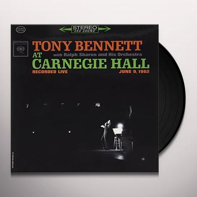 TONY BENNETT AT CARNEGIE HALL Vinyl Record