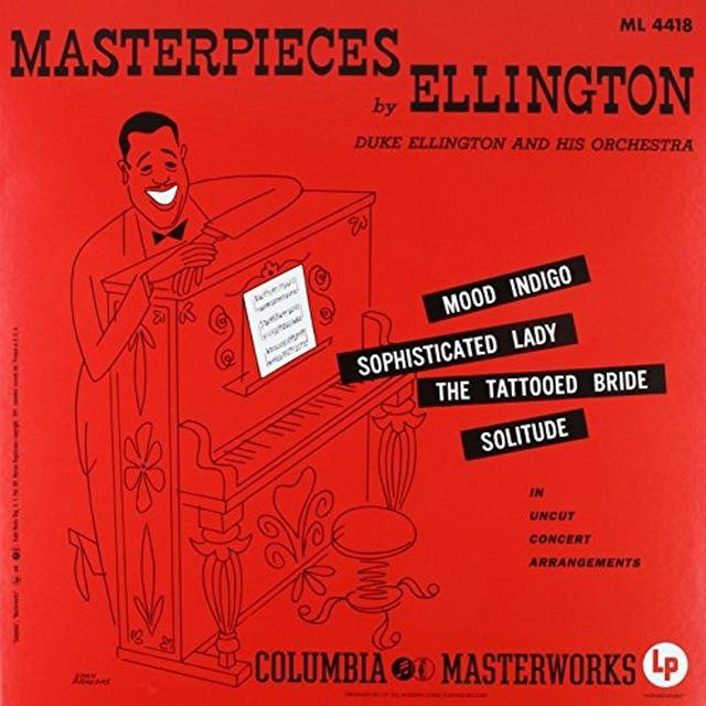 Duke Ellington MASTERPIECES BY ELLINGTON Vinyl Record