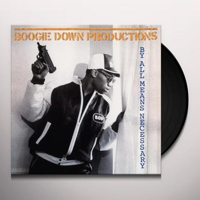 Boogie Down Productions BY ALL MEANS NECESSARY Vinyl Record - Holland Import