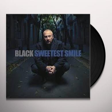 Black SWEETEST SMILE Vinyl Record - 10 Inch Single, Australia Import