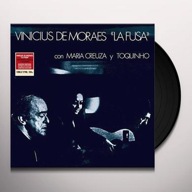 Pastor Vinicius De Moraes LA FUSA: WITH M. CREUZA & TOQUINHO Vinyl Record - Spain Import