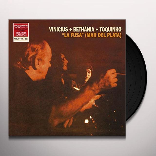 Pastor Vinicius De Moraes LA FUSA (MAR DEL PLATA) WITH M BETHANIA & TOQUINH Vinyl Record