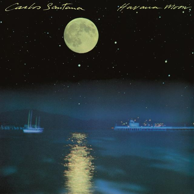Carlos Santana HAVANA MOON Vinyl Record