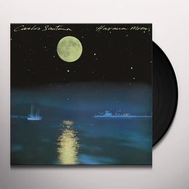 Carlos Santana HAVANA MOON Vinyl Record - 180 Gram Pressing, Holland Import