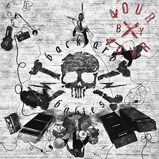 Backyard Babies FOUR BY FOUR Vinyl Record - UK Import