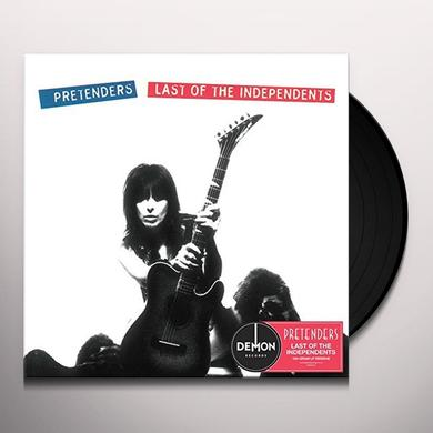 Pretenders LAST OF THE INDEPENDENTS Vinyl Record - UK Import