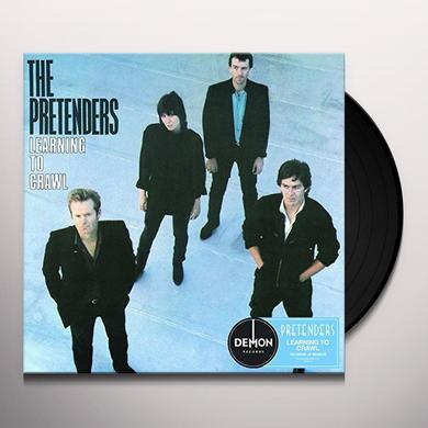 Pretenders LEARNING TO CRAWL Vinyl Record - UK Import