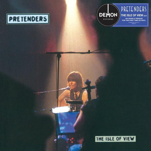 Pretenders ISLE OF VIEW Vinyl Record - UK Import