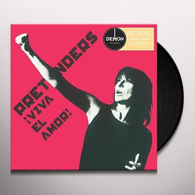 Pretenders VIVA EL AMOR Vinyl Record