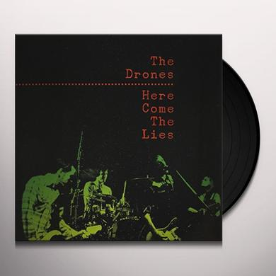 Drones HERE COME THE LIES Vinyl Record