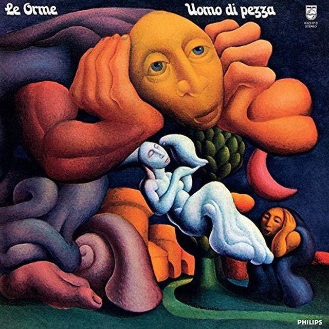 Orme UOMO DI PEZZA Vinyl Record - Italy Import
