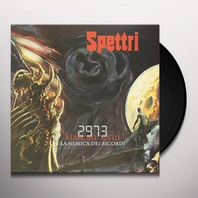 SPETTRI 2973 LA NEMICA DEI RICORDI Vinyl Record - Italy Import