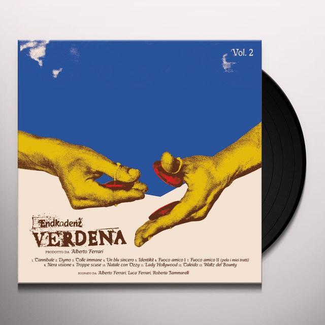 Verdena ENDKADENZ VOL 2 Vinyl Record - Italy Import