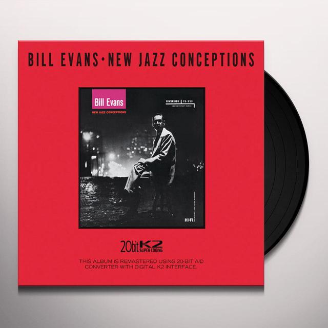Bill Evans NEW JAZZ CONCEPTIONS Vinyl Record