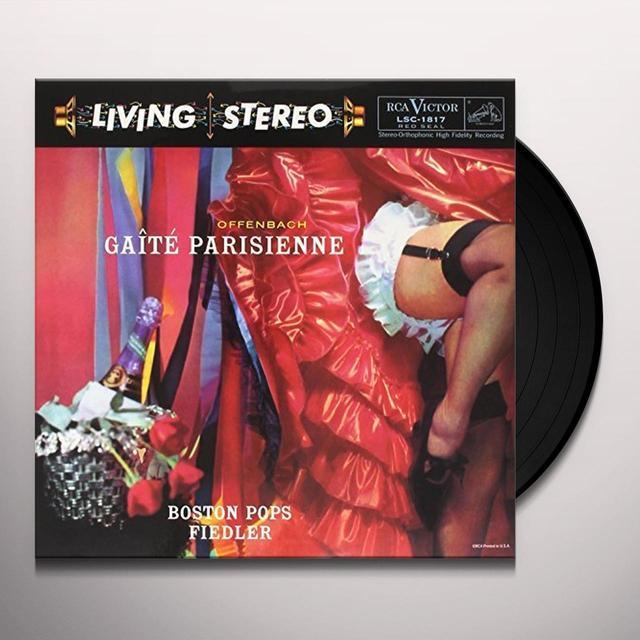 Arthur Fiedler OFFENBACH: GAITE PARISIENNE Vinyl Record