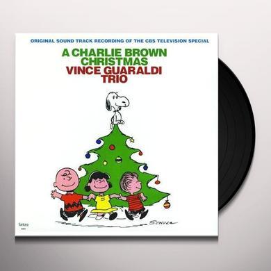 Vince Guaraldi CHARLIE BROWN CHRISTMAS Vinyl Record