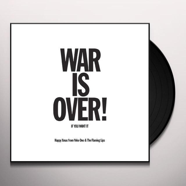Yoko Ono / Flaming Lips HAPPY XMAS (WAR IS OVER) Vinyl Record