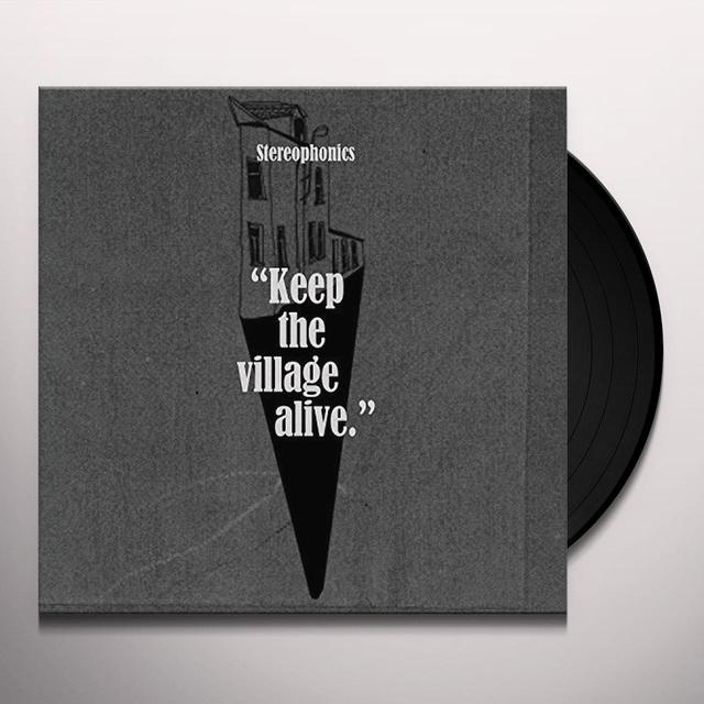 Stereophonics KEEP THE VILLAGE ALIVE Vinyl Record - Gatefold Sleeve