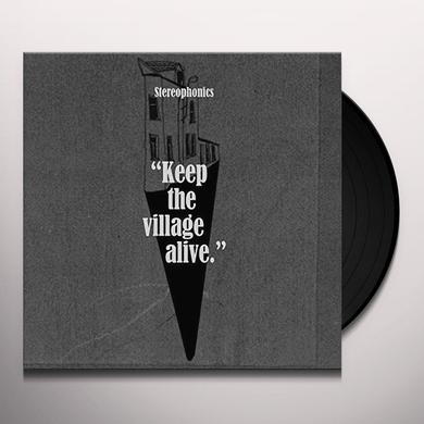 Stereophonics KEEP THE VILLAGE ALIVE Vinyl Record - Gatefold Sleeve