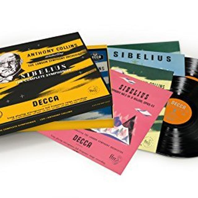 COLLINS / LSO SIBELIUS THE COMPLETE SYMPHONIES Vinyl Record