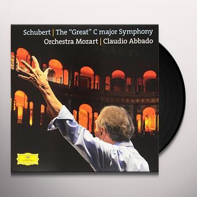 SCHUBERT / ABBADO / ORCHESTRA MOZART GREAT C MAJOR SYMPHONY D 944 Vinyl Record