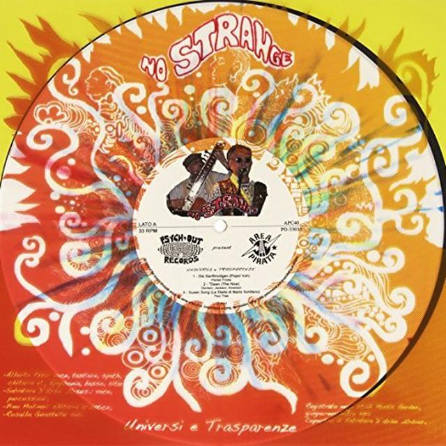 NO STRANGE UNIVERSI E TRASPARENZE Vinyl Record - Italy Import