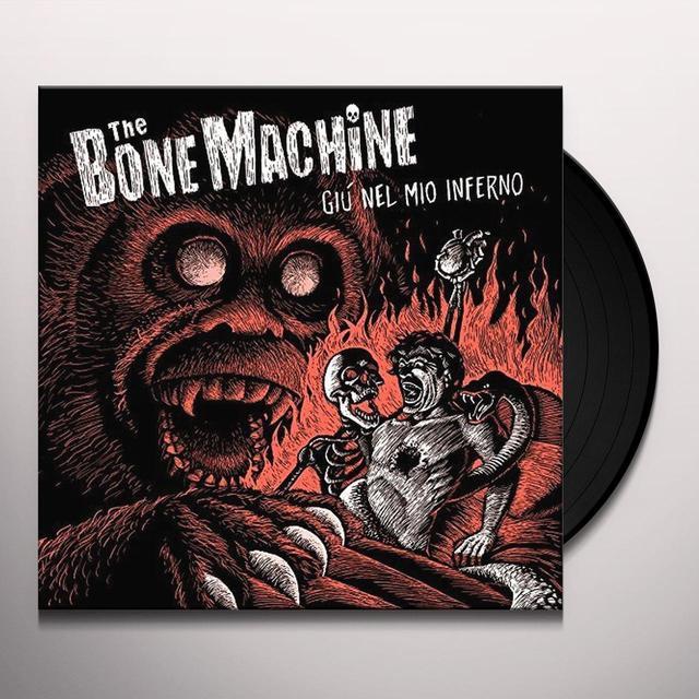 Bone Machine GIU NEL MIO INFERNO Vinyl Record - Italy Import