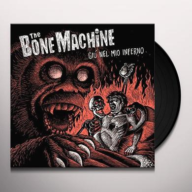Bone Machine GIU NEL MIO INFERNO Vinyl Record - Italy Import
