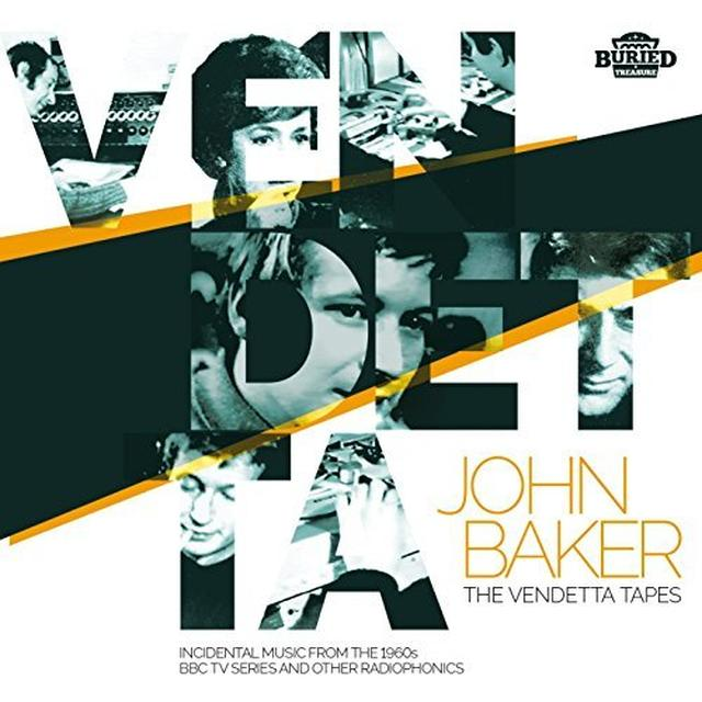 John Baker & Bbc Radiophonic Workshop VENDETTA TAPES Vinyl Record - UK Release