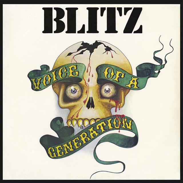 Blitz VOICE OF A GENERATION Vinyl Record - UK Import