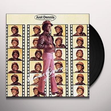 Dennis Brown JUST DENNIS Vinyl Record