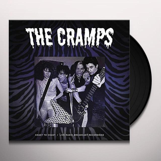 The Cramps COAST TO COAST Vinyl Record