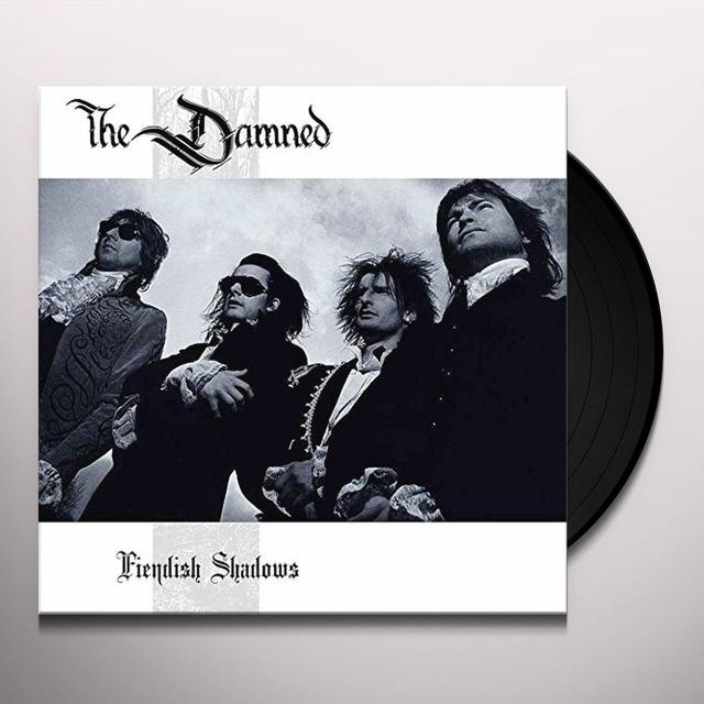 Damned FIENDISH SHADOWS Vinyl Record - UK Import