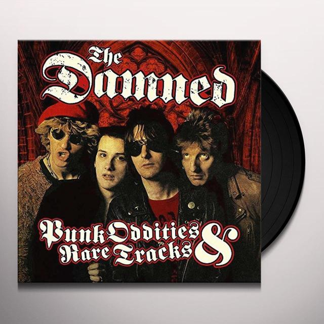 Damned PUNK ODDITIES & RARE TRACKS Vinyl Record - UK Release