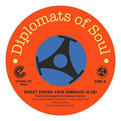 DIPLOMATS OF SOUL SWEET POWER YOUR EMBRACE/MI SABRINA TEQUANA Vinyl Record