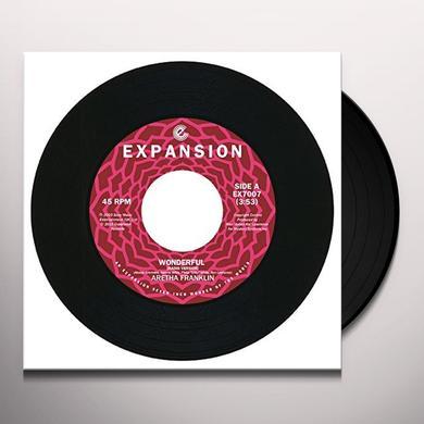 Aretha Franklin WONDERFUL Vinyl Record - UK Import