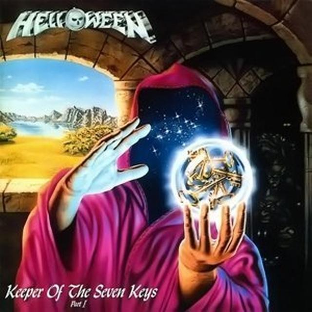 Helloween KEEPER OF THE SEVEN KEYS (PART ONE) Vinyl Record - UK Import
