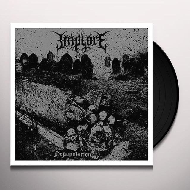 IMPLORE DEPOPULATION Vinyl Record