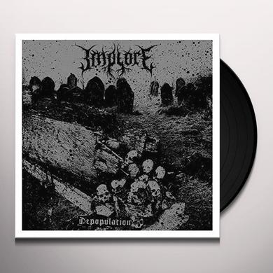 IMPLORE DEPOPULATION Vinyl Record - UK Import