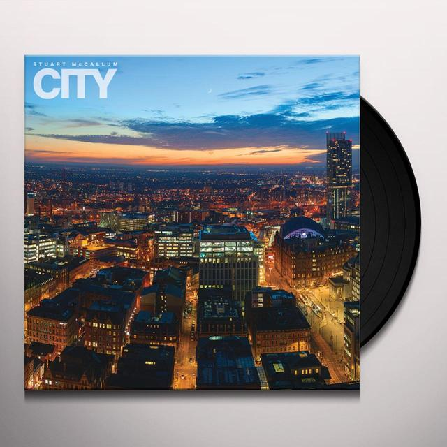 Stuart McCallum CITY Vinyl Record - UK Import