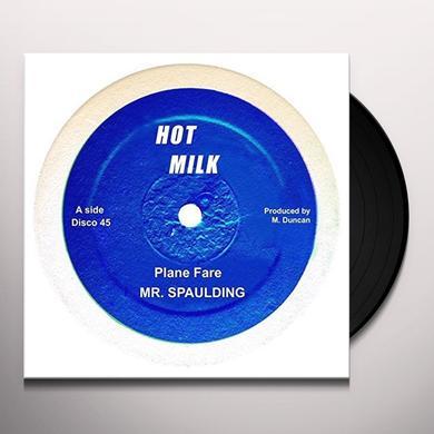 MR SPAULDING PLANE FARE/FANTASTIC Vinyl Record - UK Import