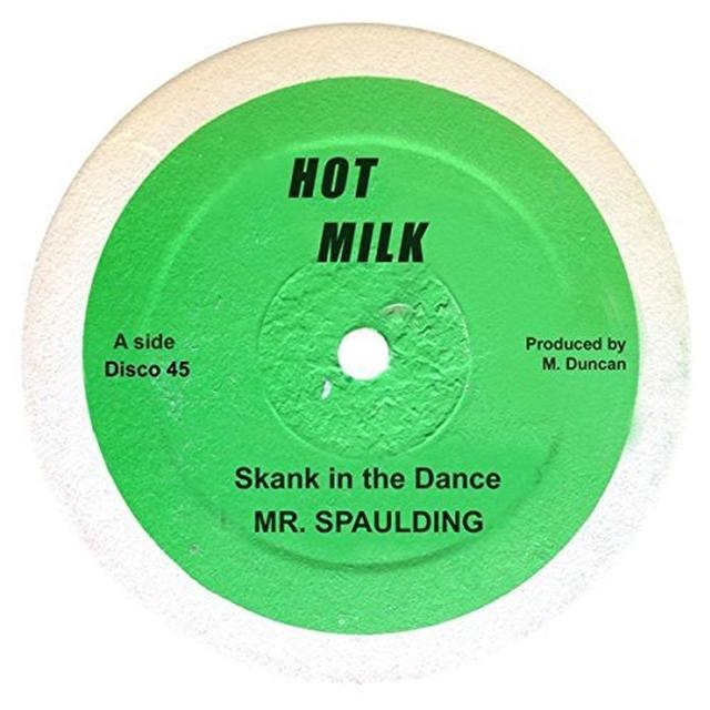 MR SPAULDING SKANK IN THE DANCE/COME NOW YOUTHMAN Vinyl Record - UK Import