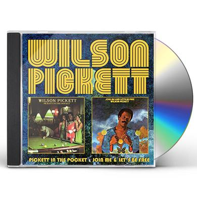 Wilson Pickett PICKETT IN THE POCKET/JOIN ME/LET'S BE FREE CD
