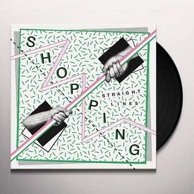 SHOPPING STRAIGHT LINES Vinyl Record - UK Import