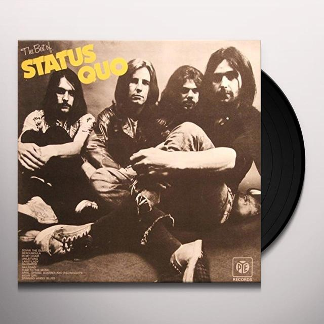 Status Quo BEST OF Vinyl Record - UK Import